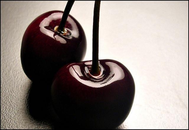 Still Life - Two Cherries