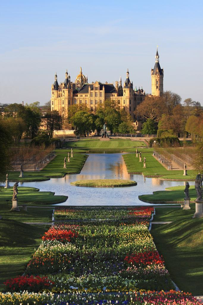 Schwerin Castle from the south